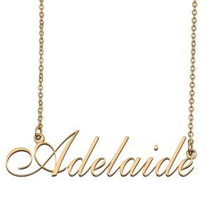 Custom Personalized Adelaide Name Necklace